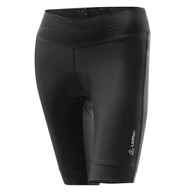 Löffler Tour pantaloncini da ciclismo Donna nero